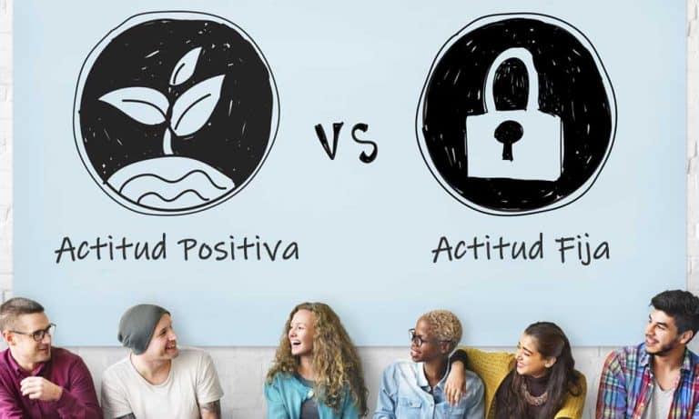 Actitud positiva o actitud fija