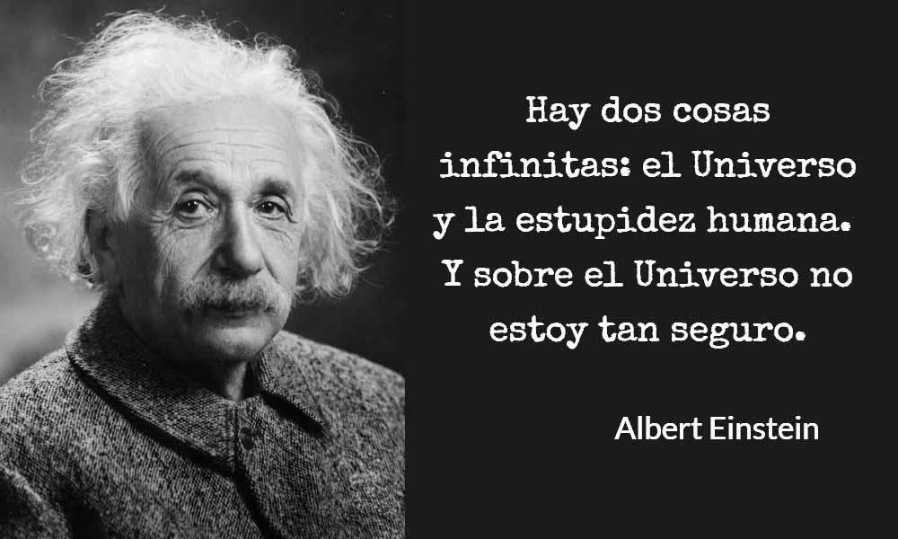 Como no ser estupido - Einstein