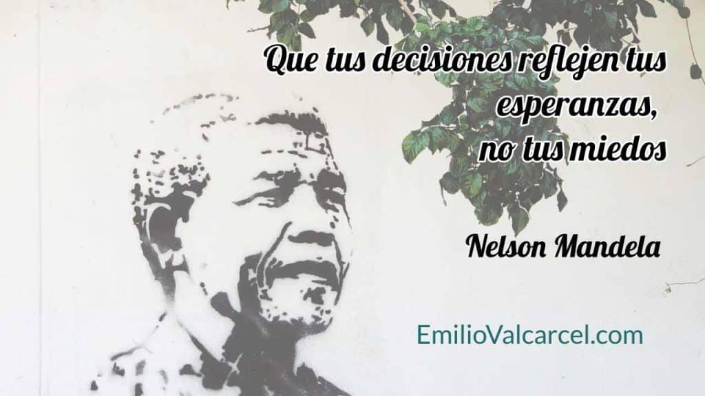 Toma de decisiones - Mandela